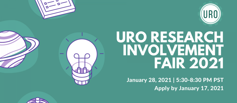 URO Research Involvement Fair 2021 Banner